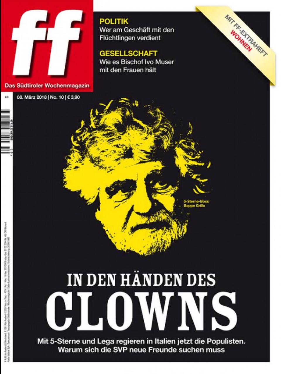 Titelblatt der Ausgabe Nr. 10