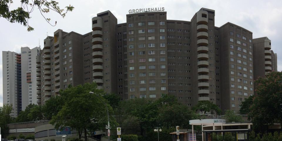 Gropiushaus in der Gropiusstadt, Berlin 1962-1975