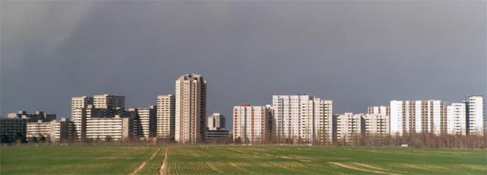 Gropiusstadt kurz nach der Fertigstellung