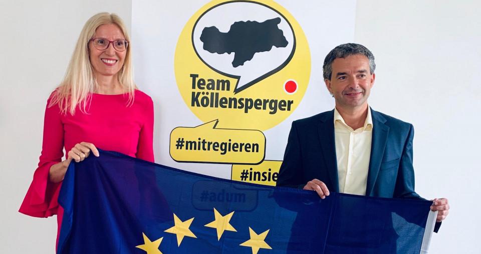 Renate Holzeisen, Paul Köllensperger