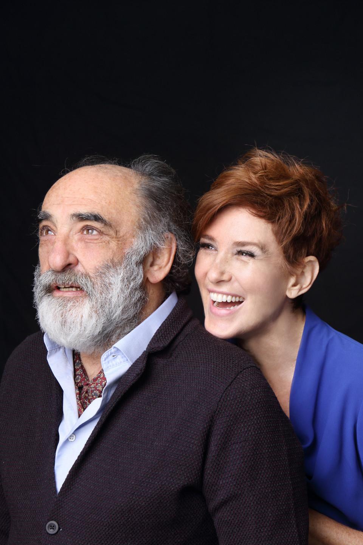 Il padre, Alessandro Haber e Lucrezia Lante della Rovere