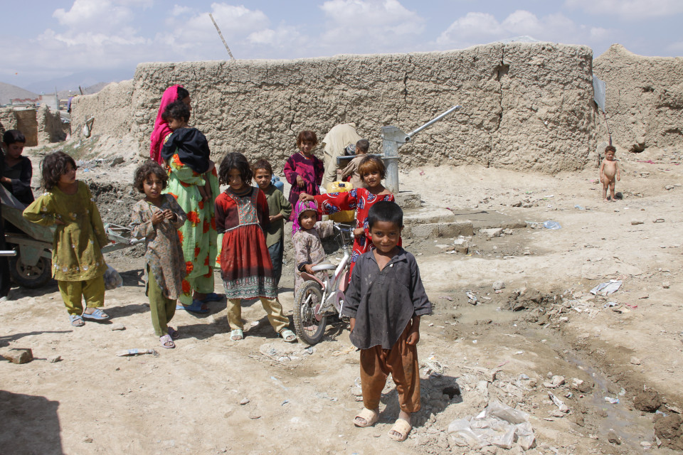 villaggio in Afghanistan