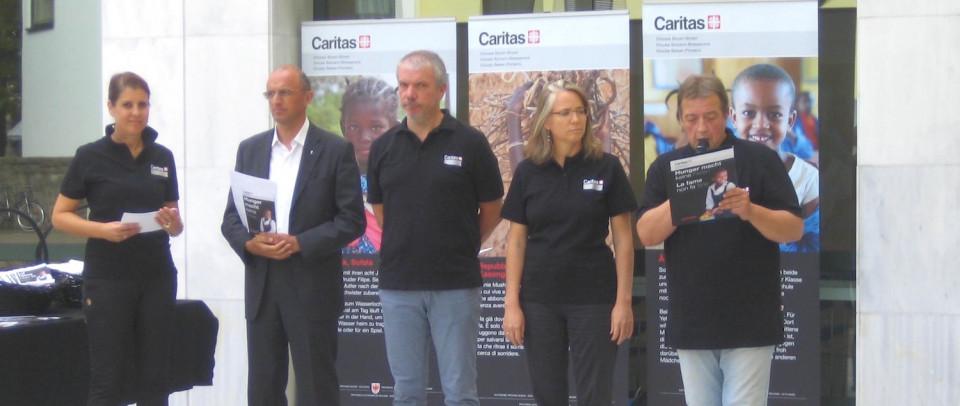 Renata Platter, Eugen Runggaldier, Paolo Valente, Judith Hafner, Fabio Molon