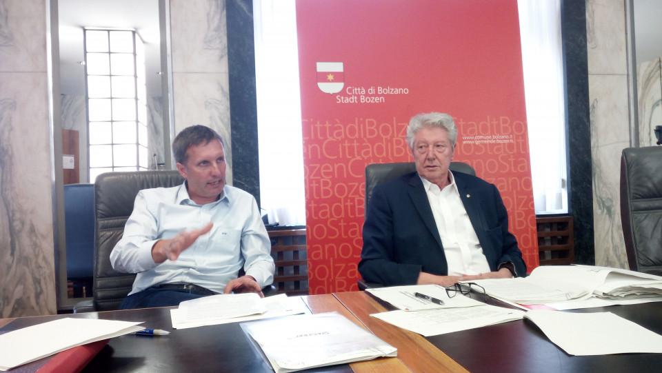 Luis Walcher, Renzo Caramaschi