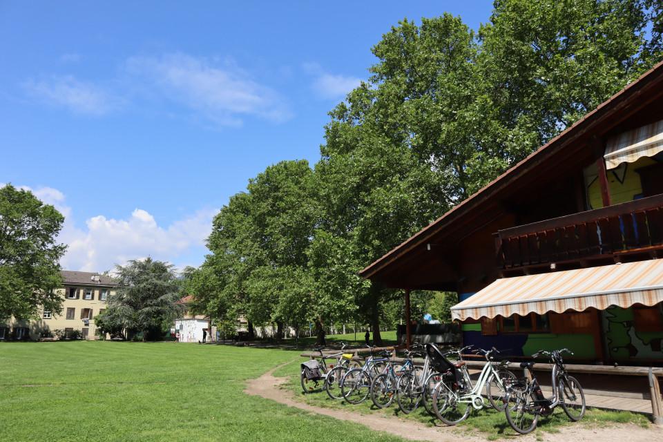 social park Mignone Bolzano parco Oltrisarco