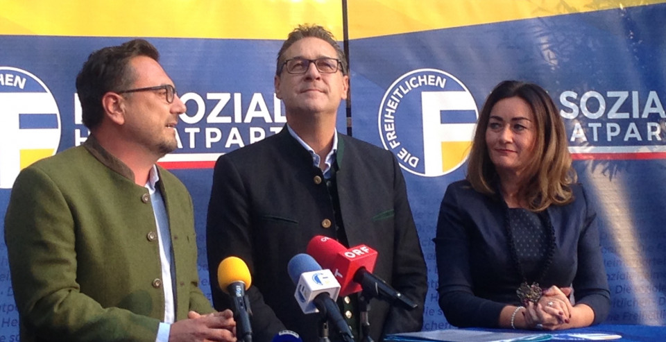 Leiter Reber, Strache, Mair