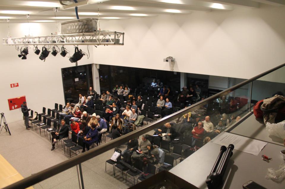 Pubblico al Liceo Carducci per ascoltare Evgeny Morozov