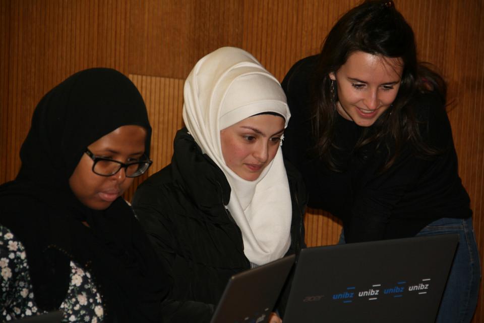 Amiina und Razan