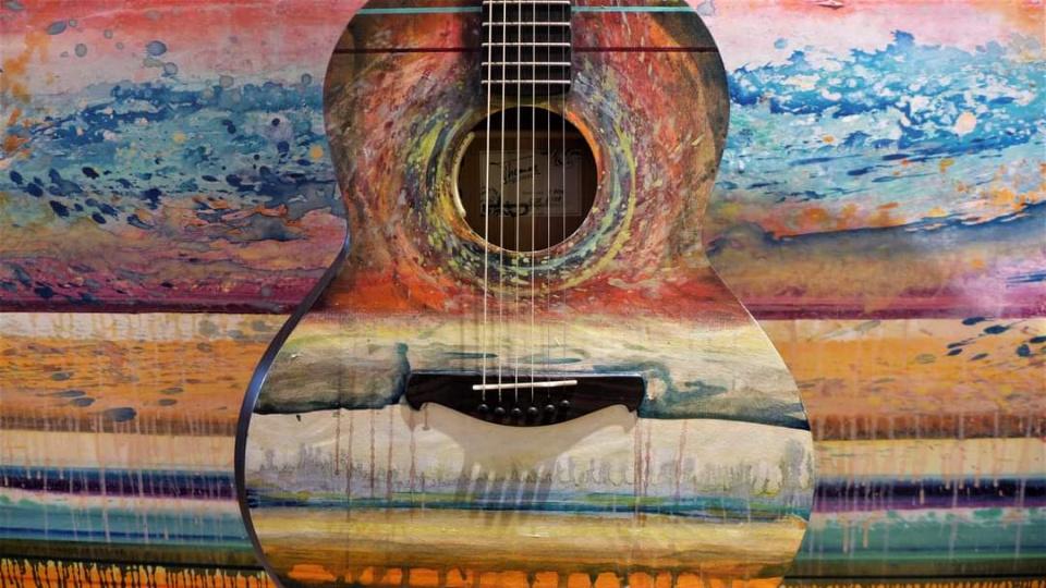 Marc Perin's Gitarre