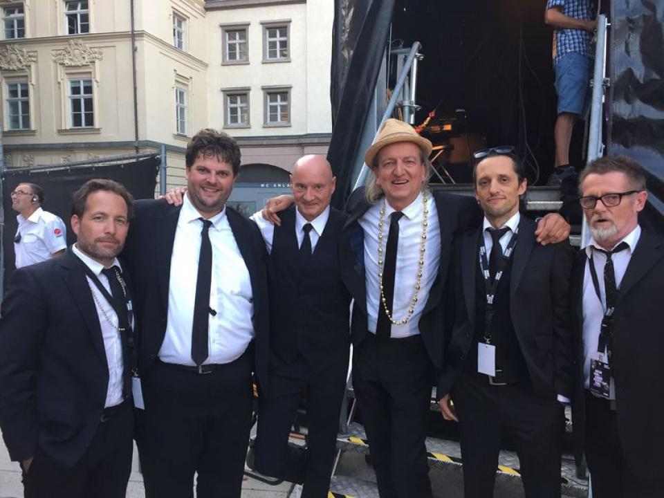 Die Markus Linder Band im Jahre 2018.