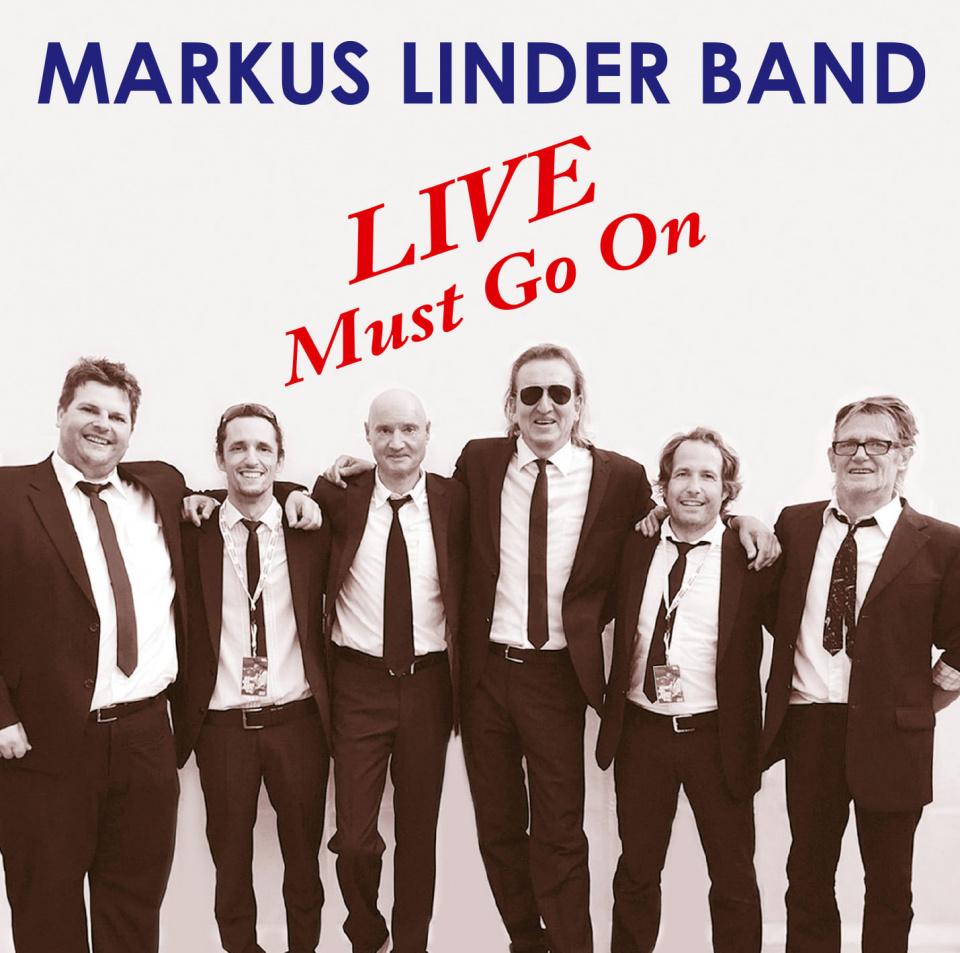 Das Cover zur Live-CD der Markus Linder Band.
