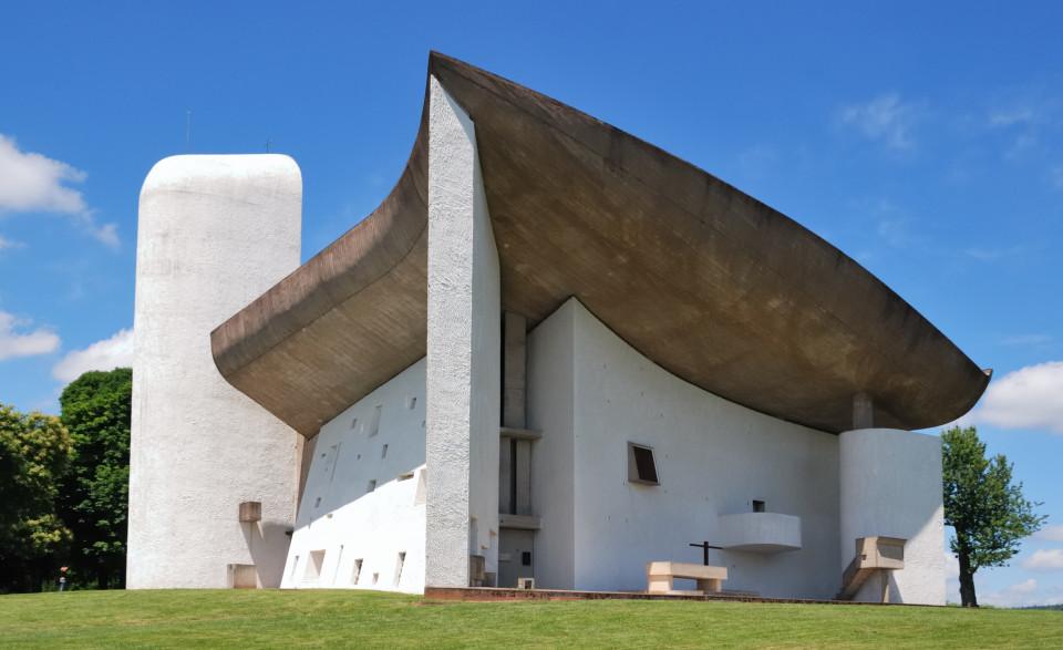 Die Kapelle Notre-Dame-du-Haut (Ronchamp), Le Corbusier, Ronchamp 1955
