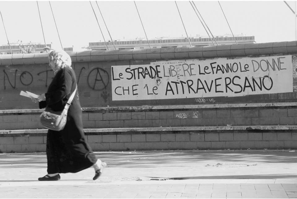 donne, strade sicure, spazio pubblico