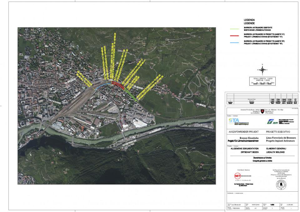 Barriere antirumore Bolzano