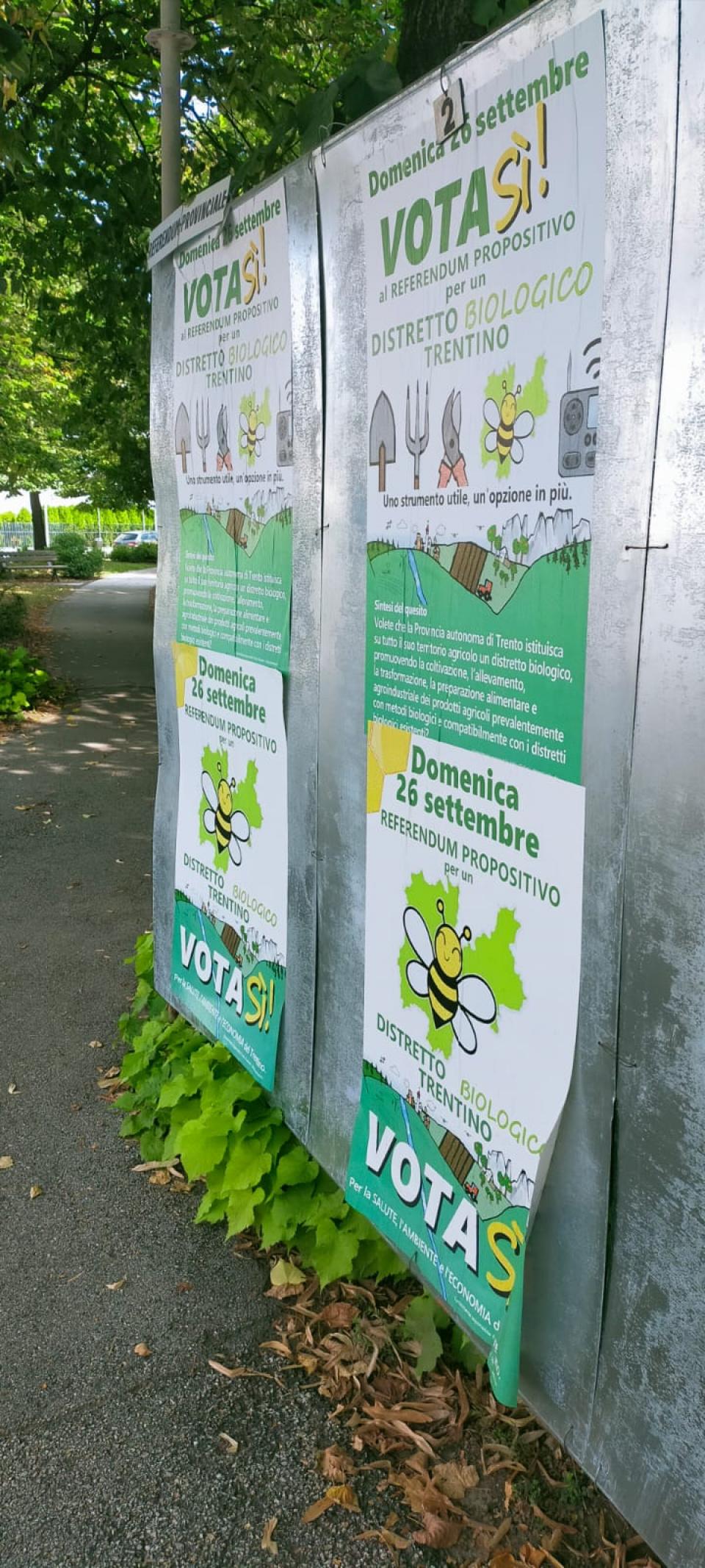 Referendum biodistretto Trento