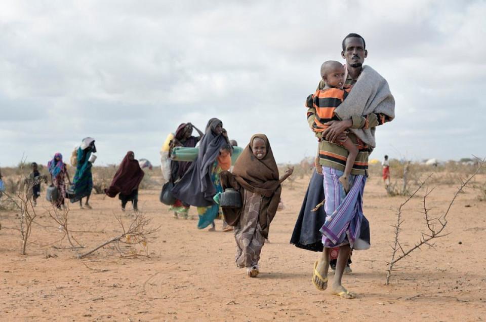 Flüchtlinge in Somalia