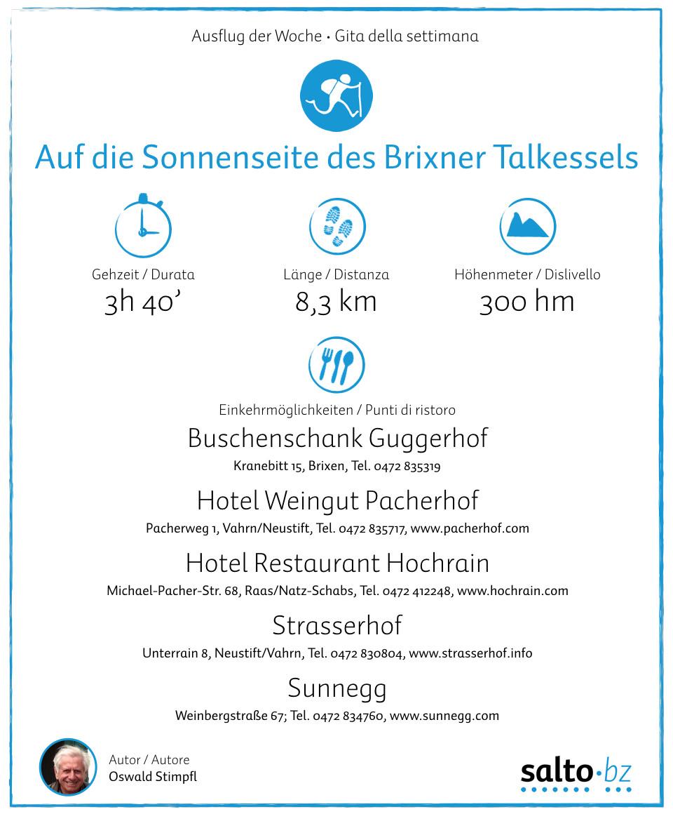 Ausflug Brixen-Elvas