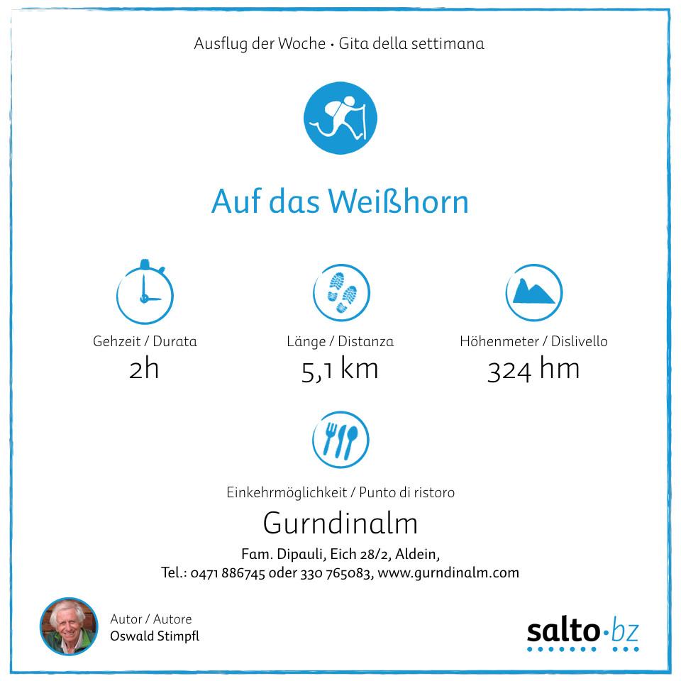 Ausflug Weißhorn
