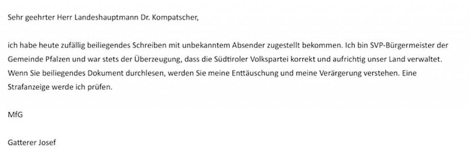 Schreiben_Gatterer Josef