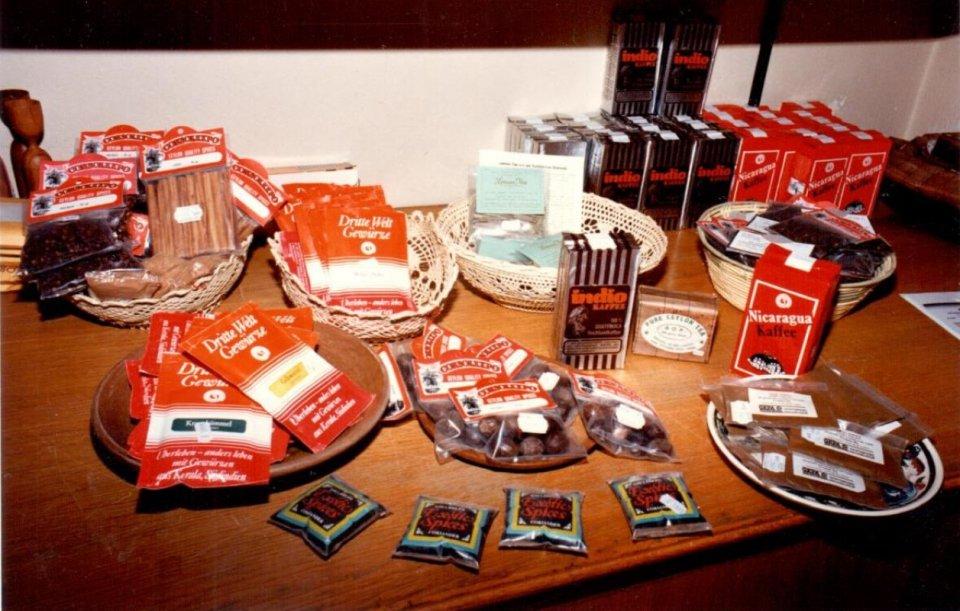 Produkte Weltladen Brunogasse
