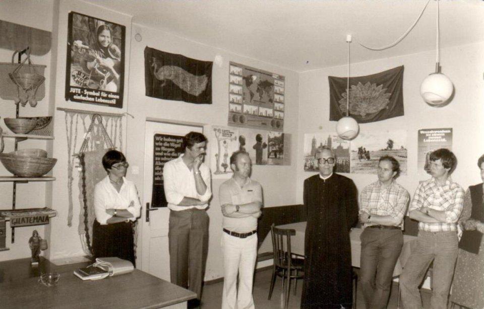 Gründungsmitglieder Weltladen Brunogasse 1980
