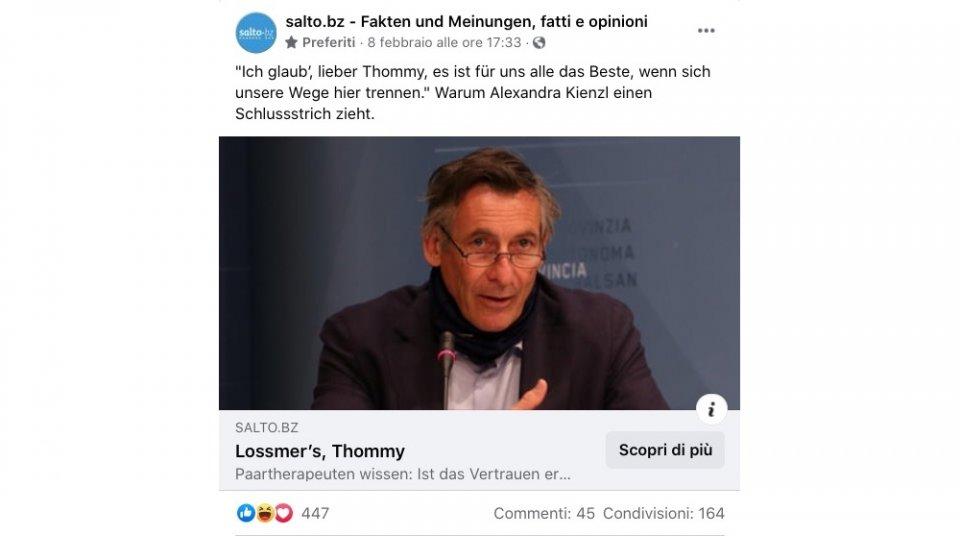 salto FB-Post