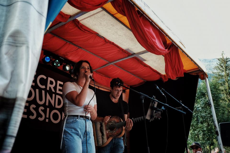 Marc Perin & Claudia Pahl live Goasroscht