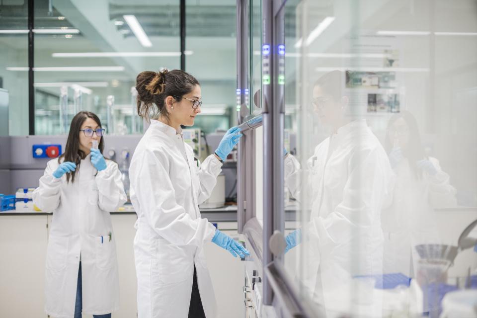 Die Labore im NOI stehen den Unternehmen offen