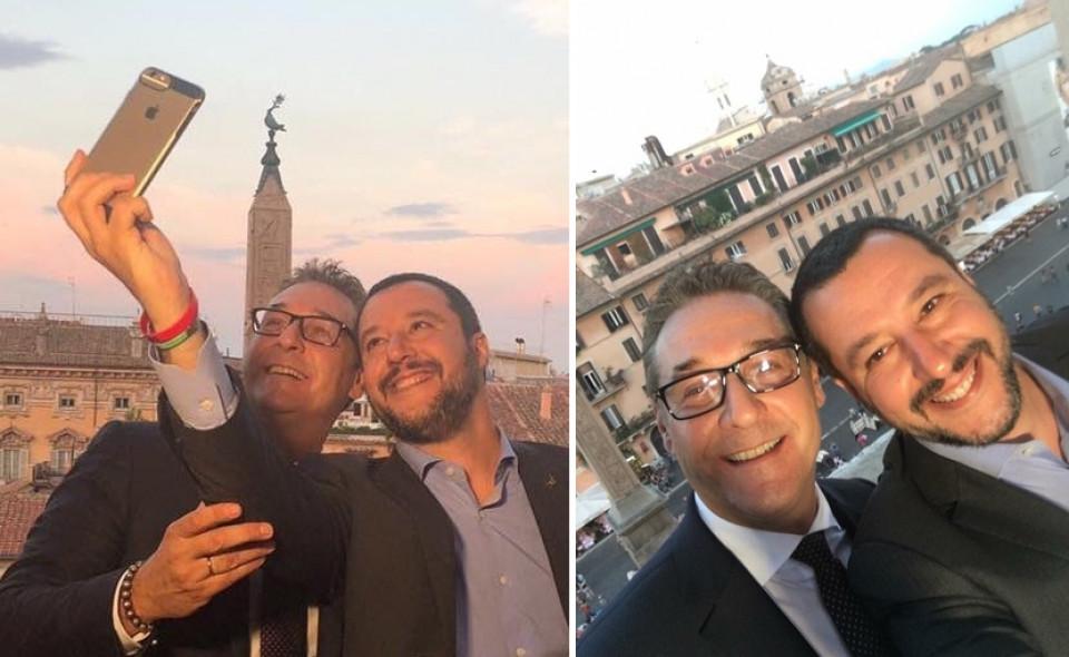 Strache und Salvini