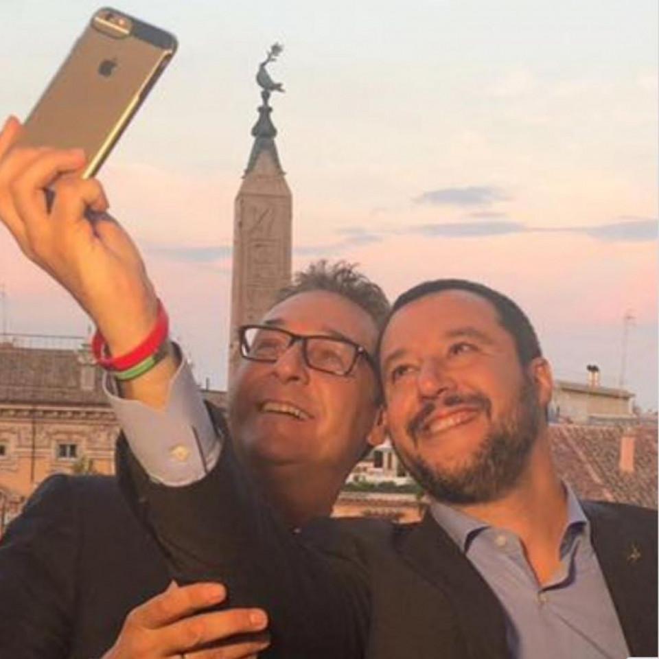 Strache, Salvini