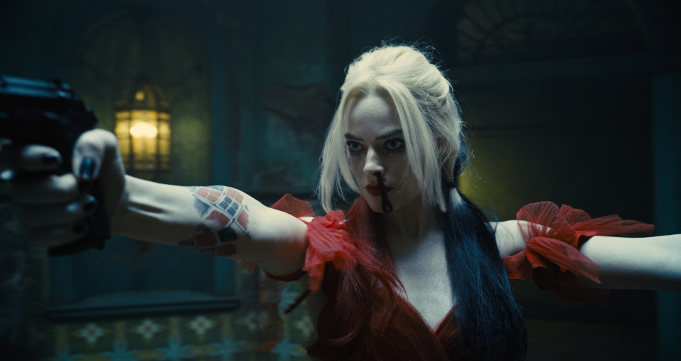 Unrestrained, borderline and unpredictable: Harley Quinn (Margot Robbie) is part of the Suicide Squad.