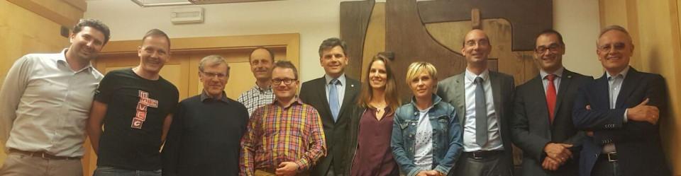 Treffen SVP St. Ulrich mit Handelskammer