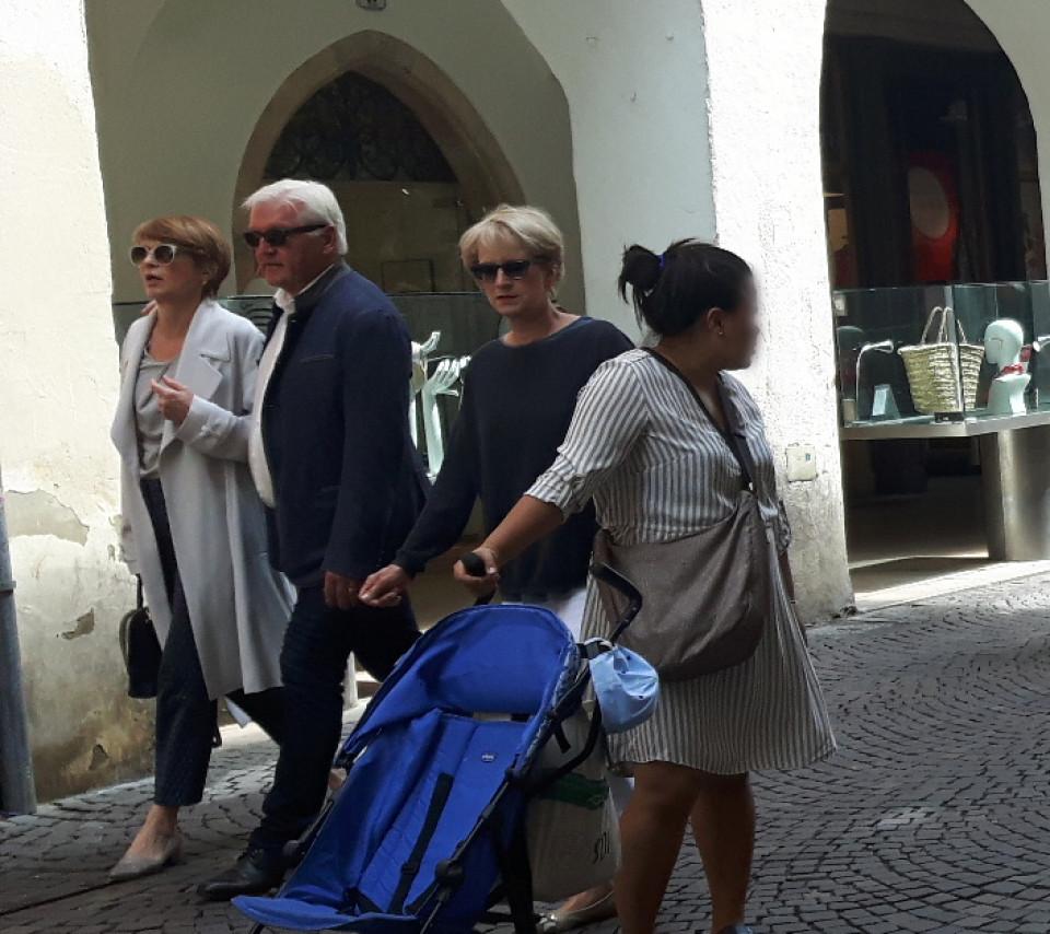 Steinmeier Urlaub