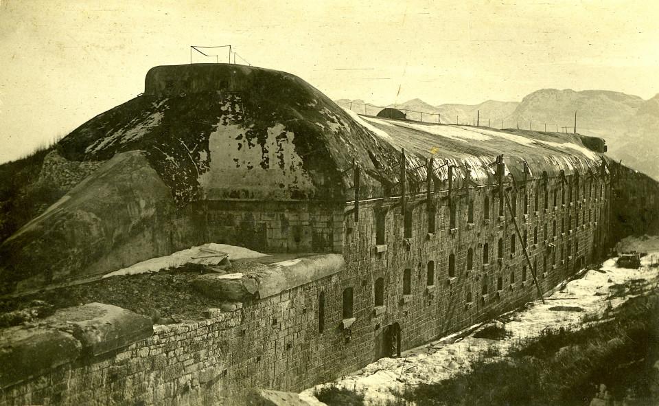 Forte Dosso del Sommo 1920