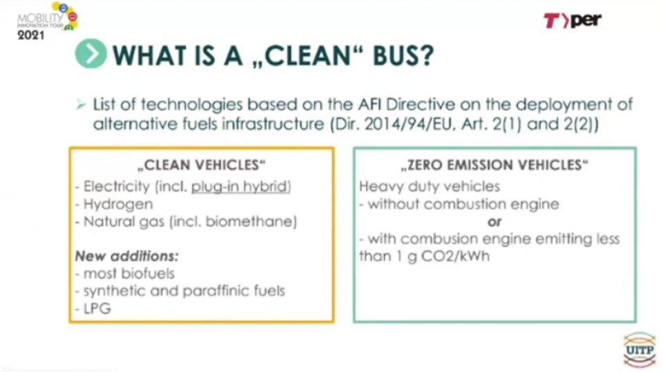 """Cosa sono i """"clean vehicle"""" in base alla direttiva europea Dafi del 2014"""