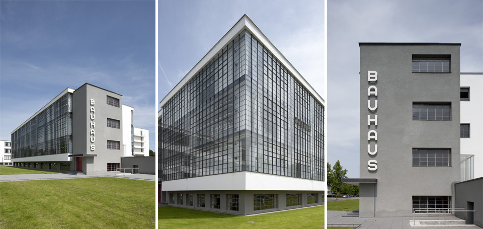 Bauhaus Gebäude in Dessau