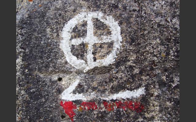 Das Symbol des Mühlenweges