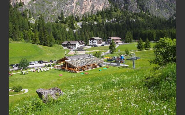 01_Start beim Ausbildungszentrum der Alpini im Langental Gröden