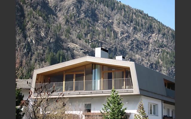 Dachgeschoss in Mühlen i.T. von Arch. Stifter + Bachmann
