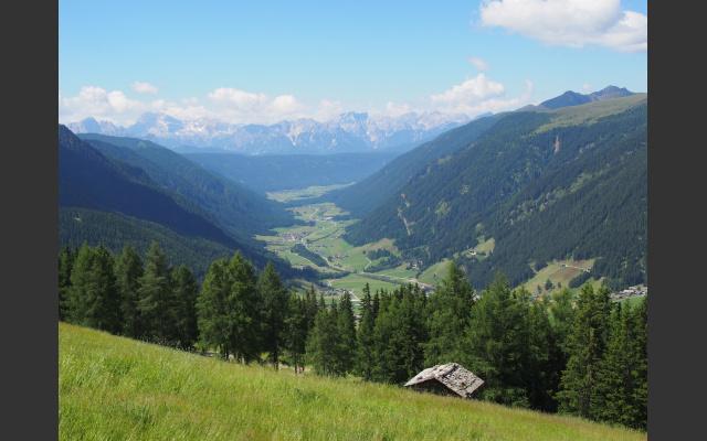 Beeindruckender Ausblick über das Gsieser Tal