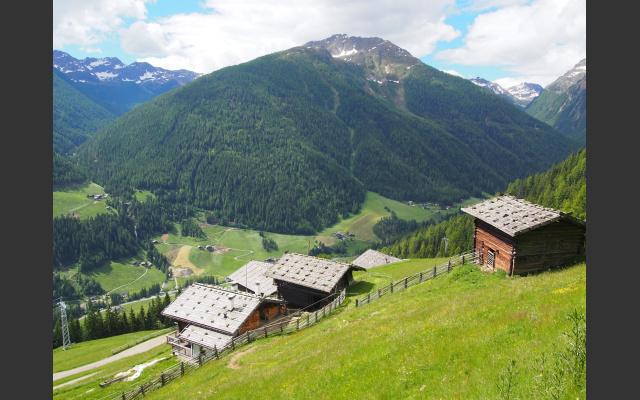 Blick über das hintere Ultental