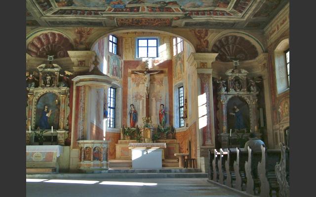 Säben, Hl. Kreuzkirche