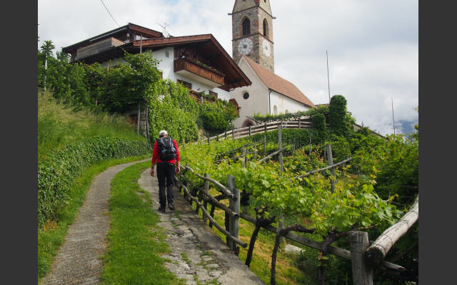 Die Kirche von Kuens
