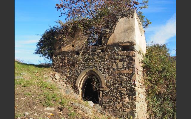 Die Ruine des Weinbergers