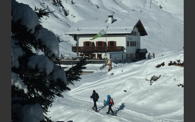 Abstieg zur Meraner Hütte