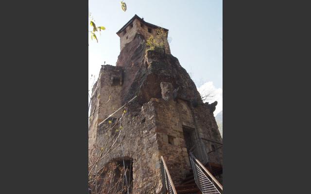 Unnahbare Burg Festenstein