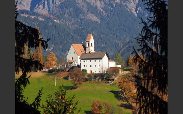 Die Dorfkirche von Afing