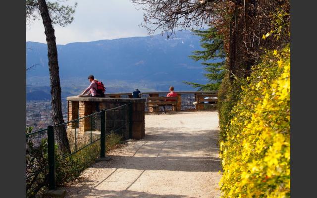 Belvedere auf der Oswaldpromenade