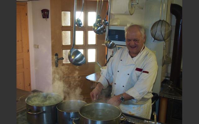 Franz in der Almküche