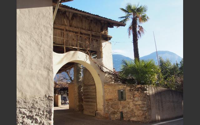 Schöne Häuser in Kurtatsch
